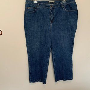 LEE RELAXED STRAIGHT LEG (AT THE WAIST)  MOM JEANS